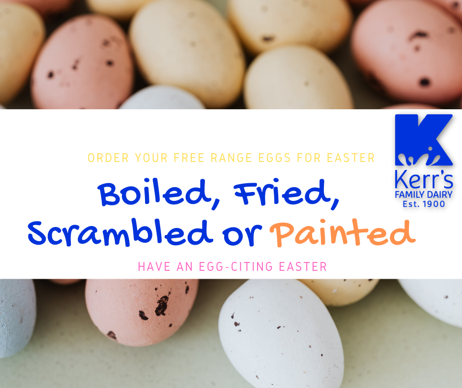 Have an egg-citing Easter Weekend